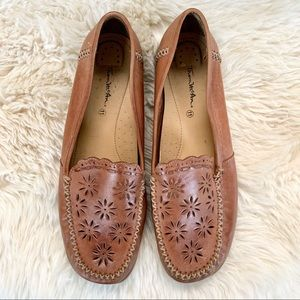 """🗣 """"Brown Leather Loafers by Thom McAn"""""""